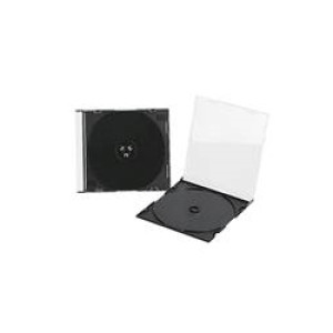 CD-BOX Slim, crni/ komad