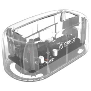 """Orico Docking stanica 3.5"""" SATA HDD, USB3.0, prozirna (ORICO 6139U3-CR)"""
