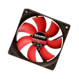 Xilence hladnjak za kućište 92×92×25mm, crno/crveni