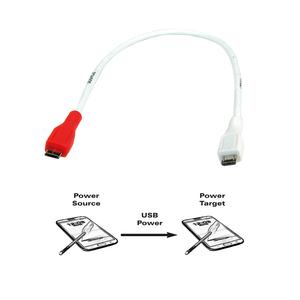 Roline VALUE USB2.0 kabel za punjenje TIP Micro B(M) - Micro B(M), 0.3m -11.99.8307