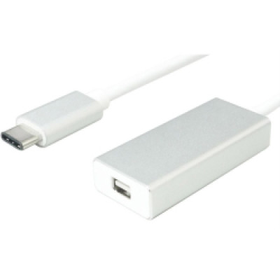 Roline VALUE adapter USB3.1 Type C - miniDP (M/F) -12.99.3225