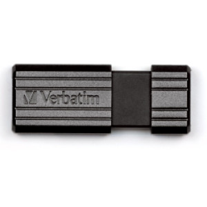 Verbatim USB2.0 PinStripe 16GB, crni - V049063