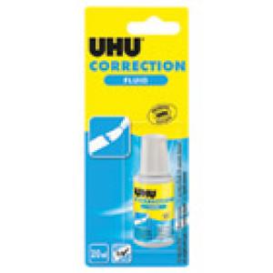 Korektor bočica 20ml solvent UHU 38990 blister