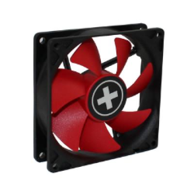 Xilence hladnjak za kućište 80×80×25mm, crno/crveni