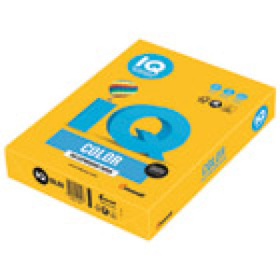 Papir ILK IQ Intenziv A4 80g pk500 Mondi SY40 zlatno žuti
