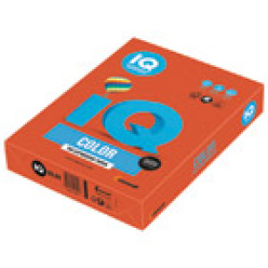 Papir ILK IQ Intenziv A4 80g pk500 Mondi ZR09 boja crvene cigle