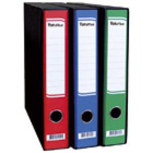 Registrator A4 uski u crnoj kutiji FORoffice crveni