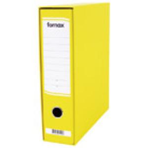 Registrator A4 široki u kutiji Fornax žuti