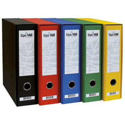 Registrator A4 široki u kutiji Lipa Mill 004083 crni