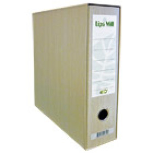 Registrator A4 široki u kutiji eko reciklirani Lipa Mill 4379 natur