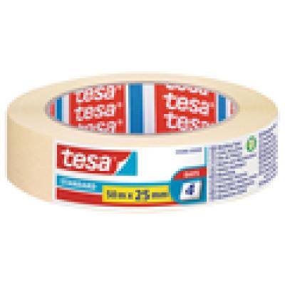 Traka ljepljiva krep 25mm/50m Standard eko Tesa 5086