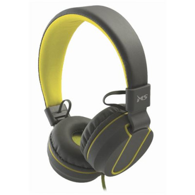 MSI  FEVER  Naglavne slušalice s mikrofonom 2 sivo žute