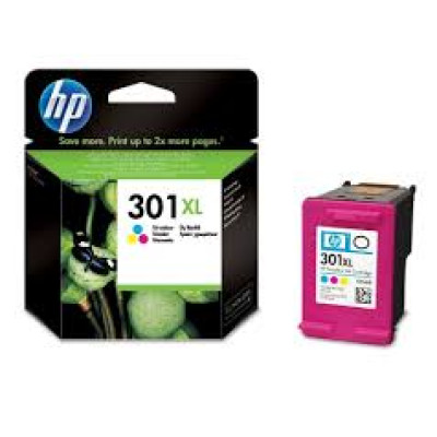 HP tinta  CH564EE  (No.301XL) - tri color