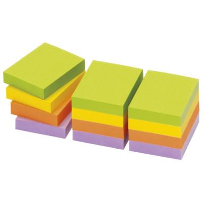 Blok samoljepljiv 40x50mm 12x100L Spring Global Notes 5653-76 neon mix