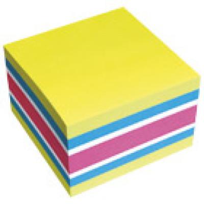 Blok samoljepljiv kocka 75x75mm 450L Brillant Global Notes 5654-51 mix