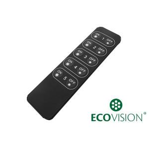 EcoVision LED RF daljinski upravljač za prigušivanje traka, 5 zona